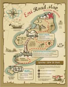 Cutsheet Cover - Esri Roadmap Pirate Map